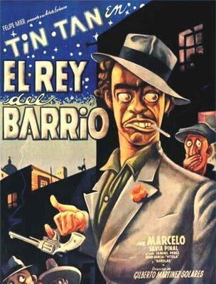 El rey del barrio (poster) - cine mexicano