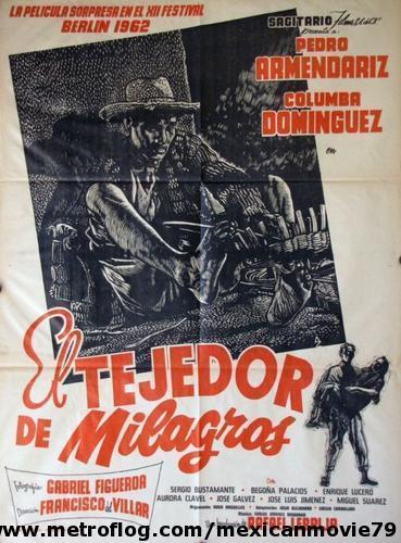 El tejedor de milagros (poster) - cine mexicano