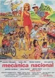 Mecánica nacional (poster) - cine mexicano