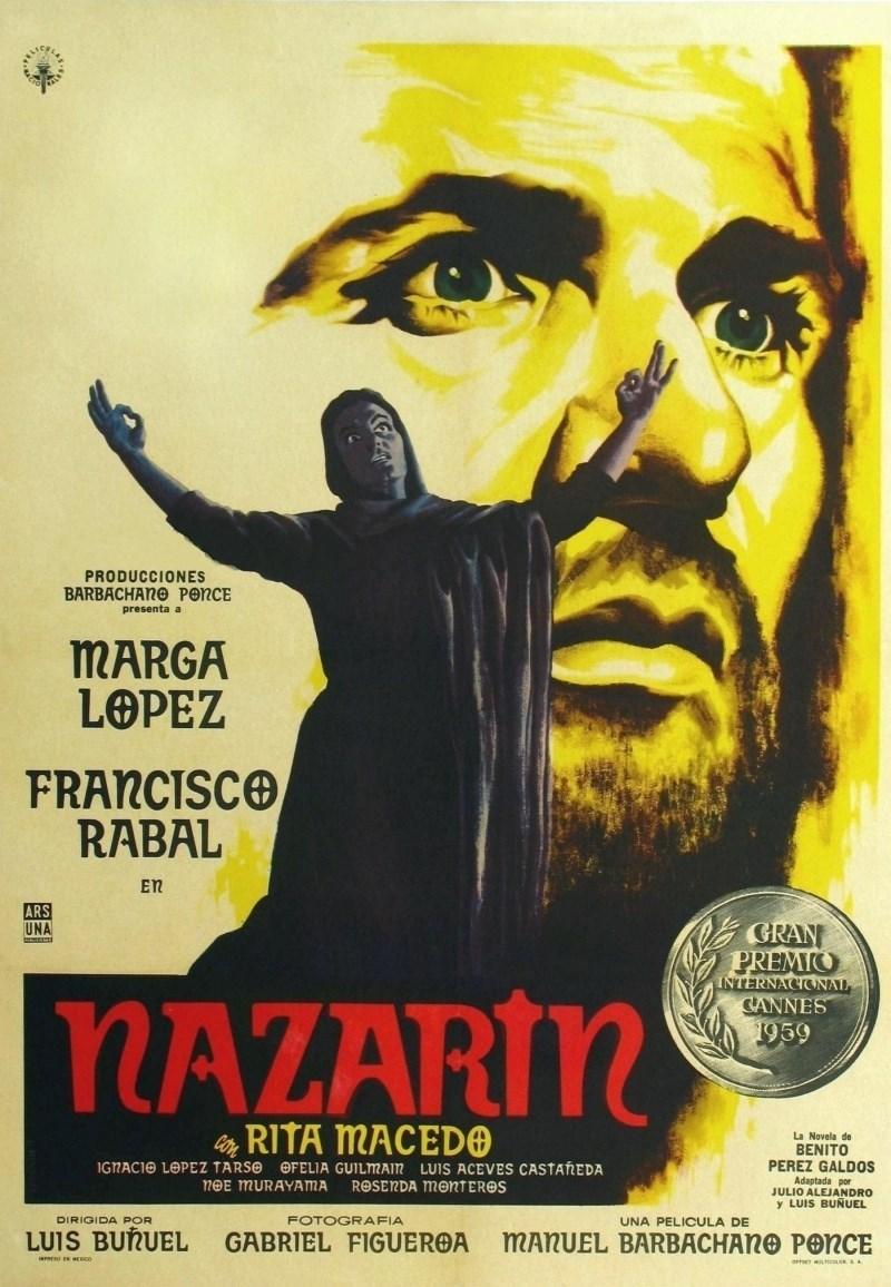 Nazarín (poster) - cine mexicano