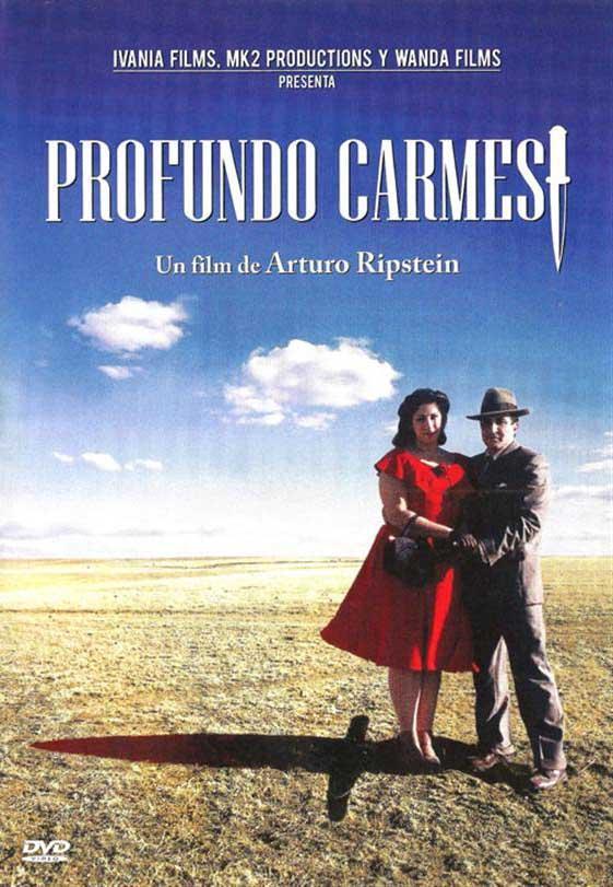 Profundo Carmesi (poster) - cine mexicano