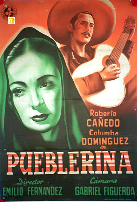 Pueblerina (poster) - cine mexicano