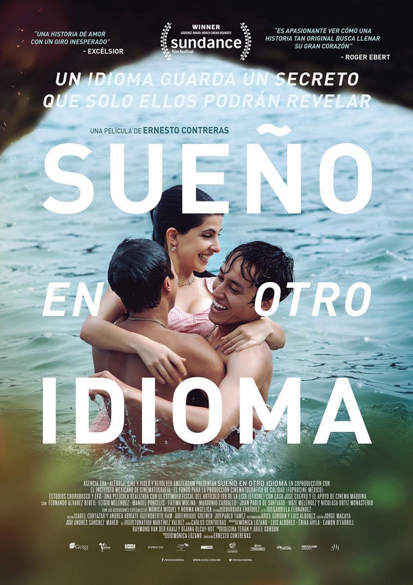 Sueño en otro idioma (poster) - cine mexicano