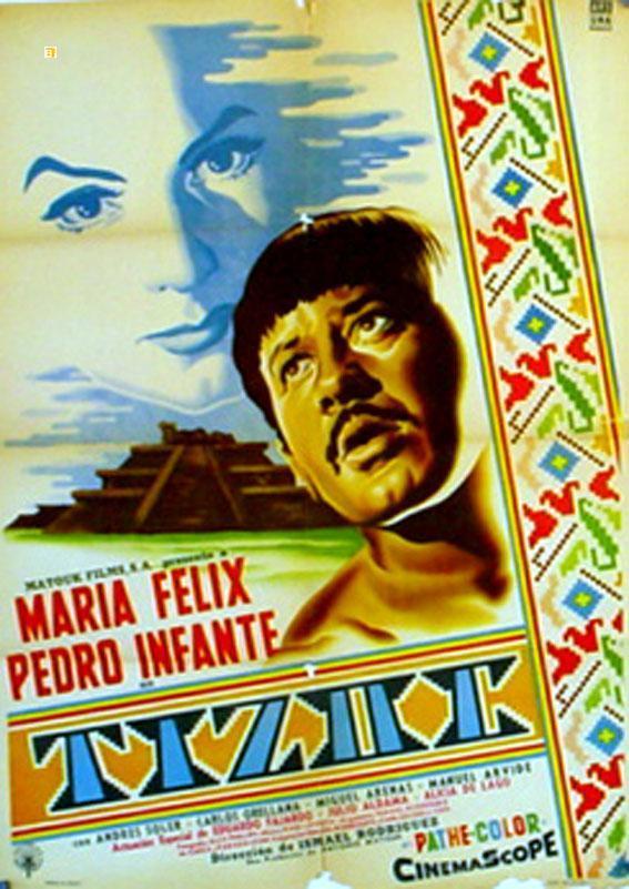 Tizoc (poster) - cine mexicano