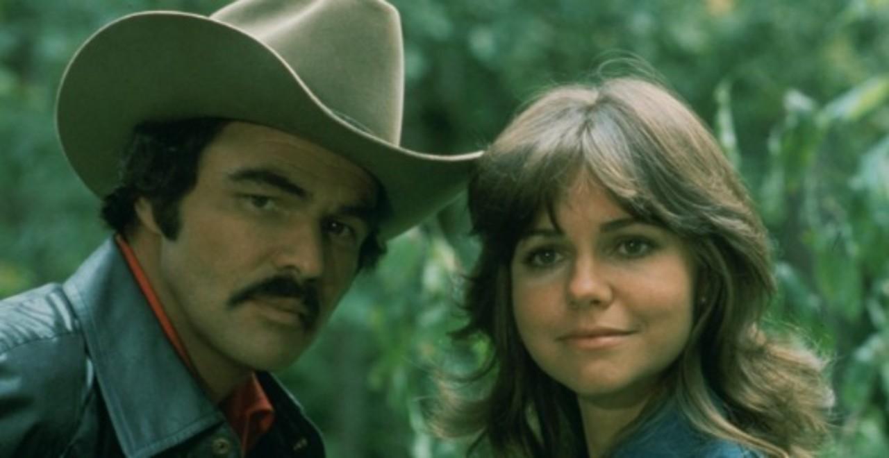 Burt Reynolds y Sally Field