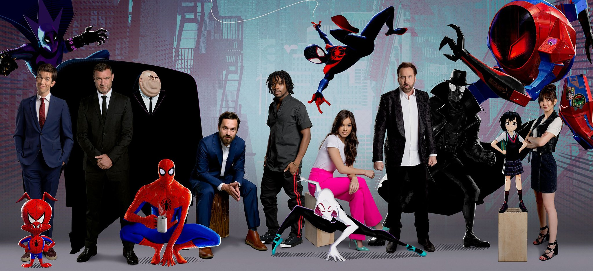 Casting de voces originales para Spider-Man: Into the Spider-Verse