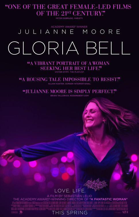 Gloria Bell (póster) - Julianne Moore