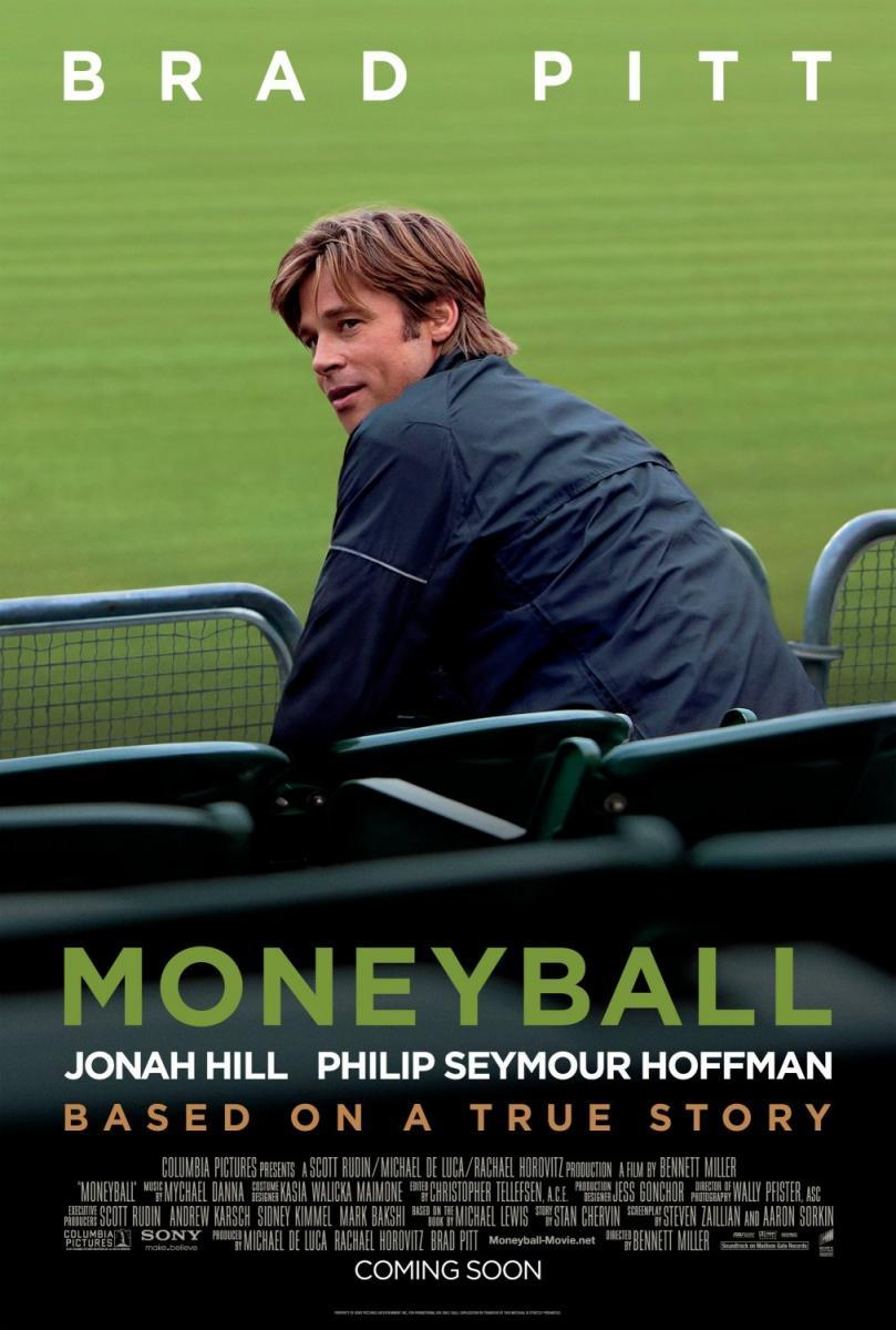 Moneyball (póster) - Brad Pitt