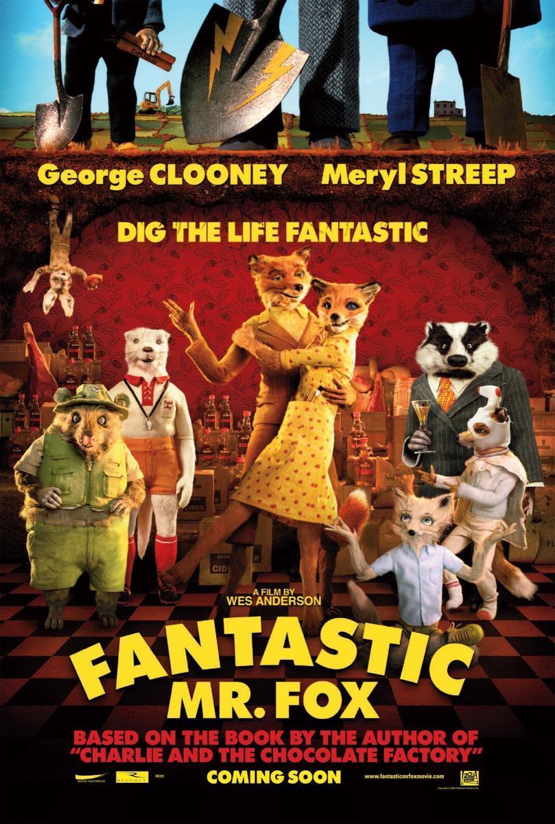 Fantastic Mr. Fox (póster) - Wes Anderson