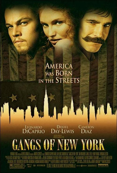 Gangs of New York (póster) - Daniel Day-Lewis