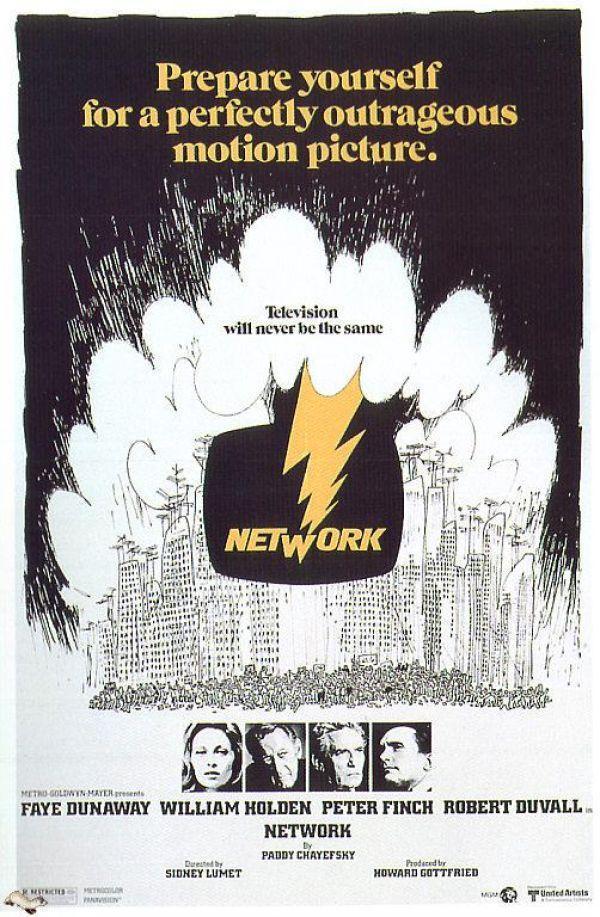 Network (poster) - William Holden