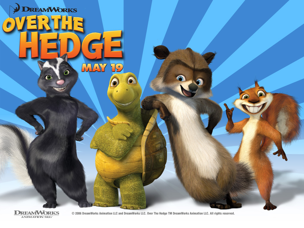 Over the Hedge - Dreamworks