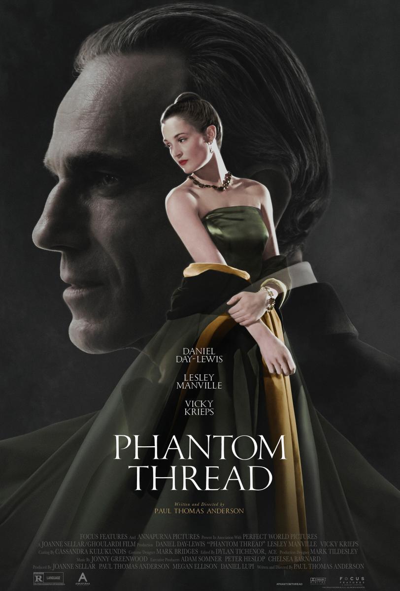 Phantom Thread (póster) - Daniel Day-Lewis