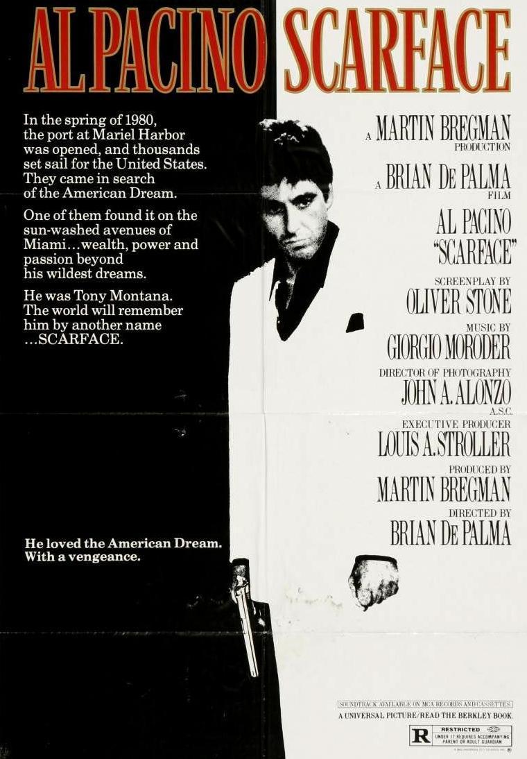 Scarface (poster) - Al Pacino