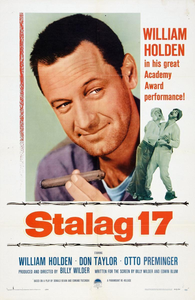 Stalag 17 (poster) - William Holden