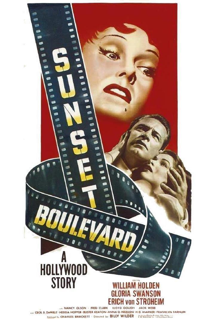 Sunset Boulevard (poster) - William Holden
