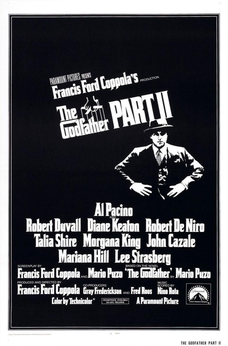 The Godfather (poster) - Al Pacino