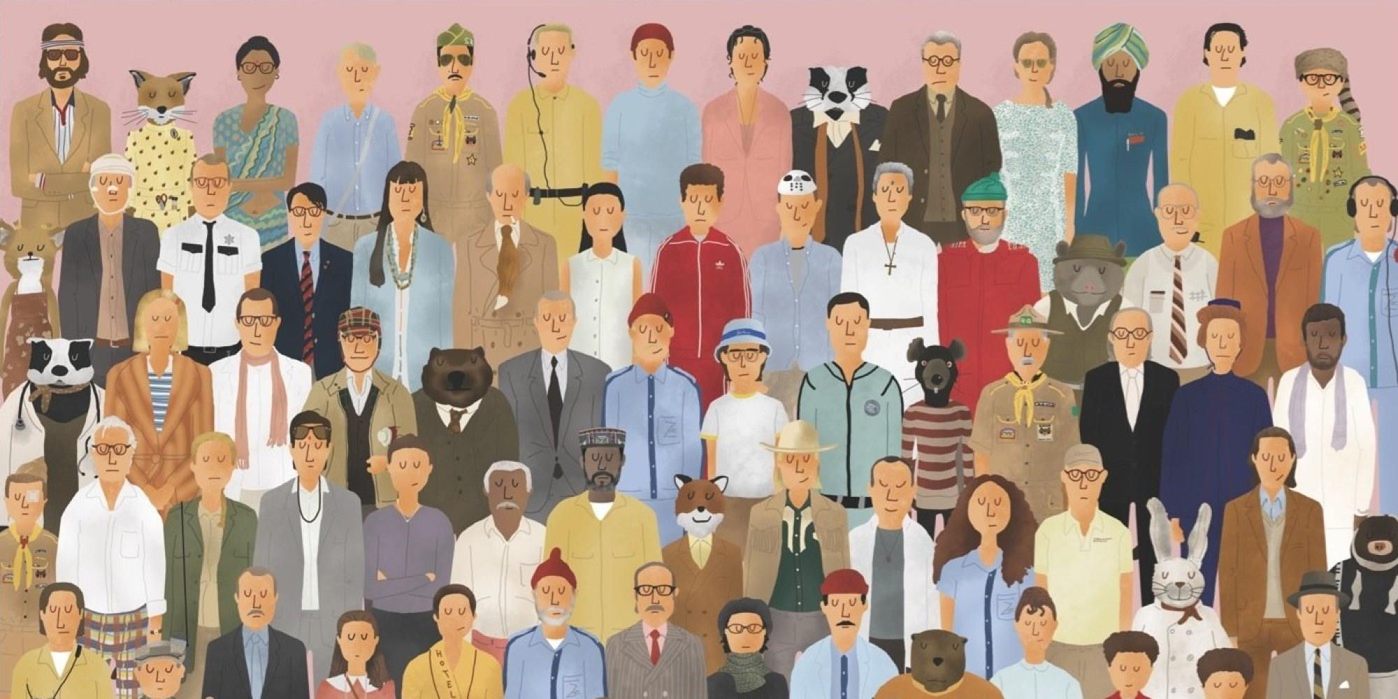Las 10 mejores películas de Wes Anderson
