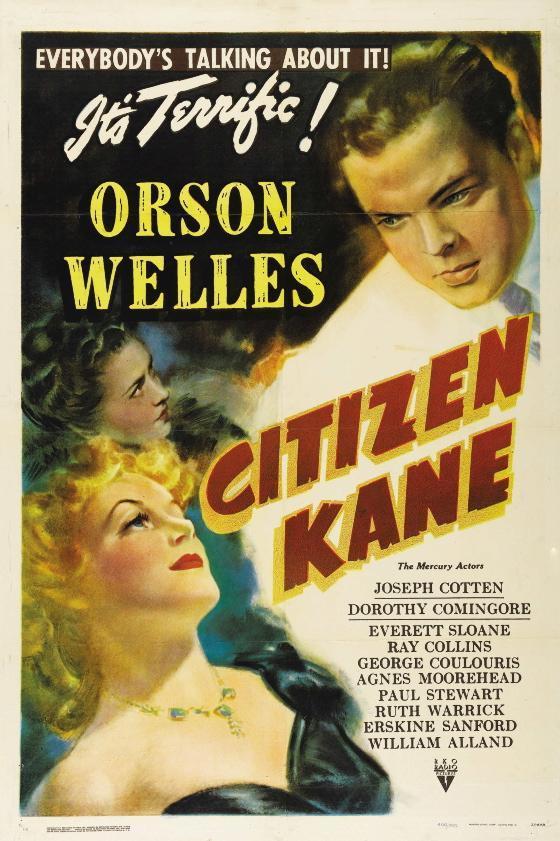 Citizen Kan (póster) - Orson Welles