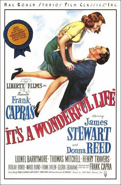It's a Wonderful Life (póster) - James Stewart