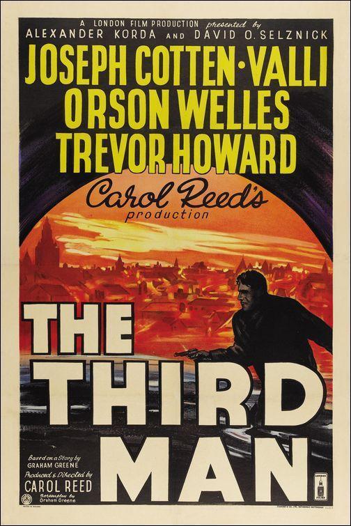 The Third Man (póster) - Orson Welles
