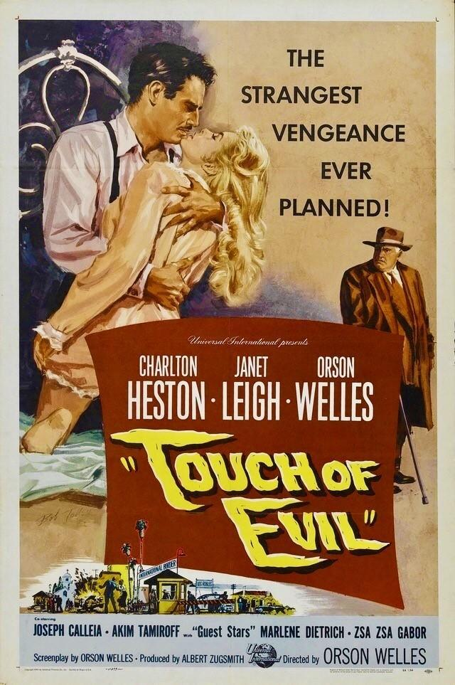 Touch of Evil (póster) - Orson Welles