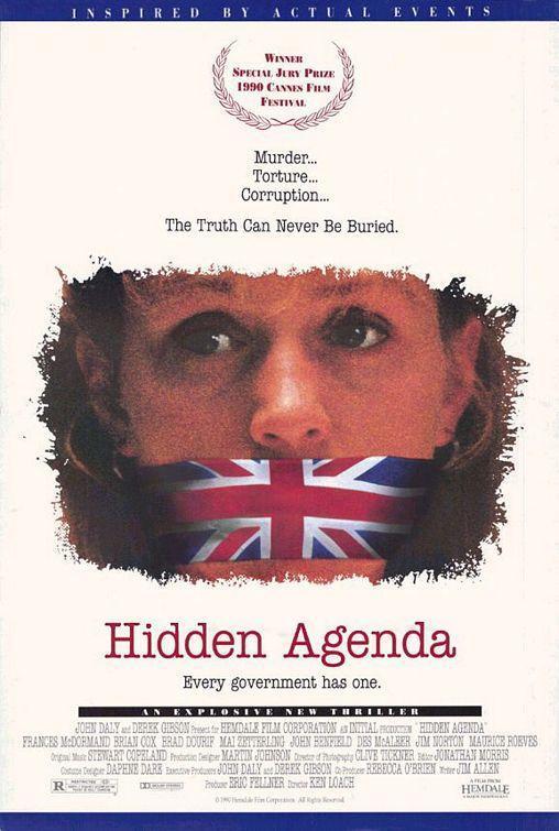 Hidden Agenda (póster) - Frances McDormand