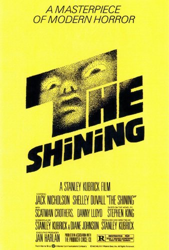 The Shining - Stanley Kubrick (póster)