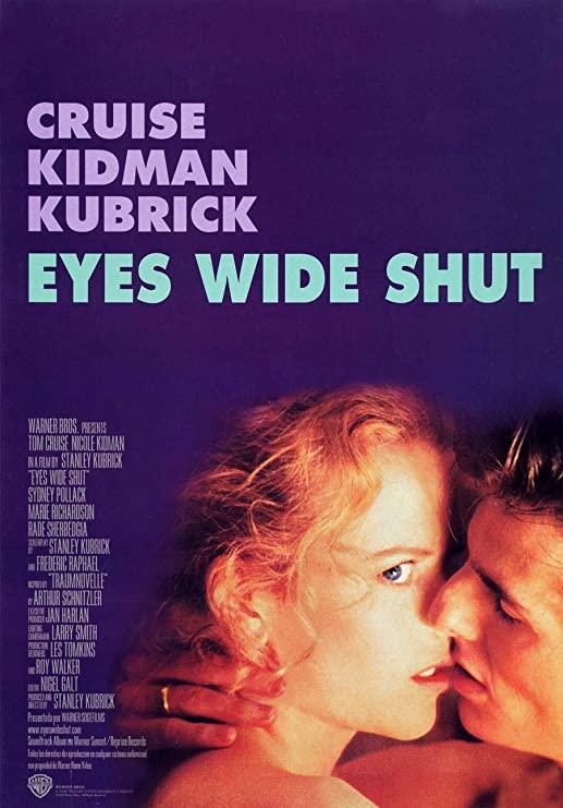 Eyes Wide Shut - Stanley Kubrick (póster)