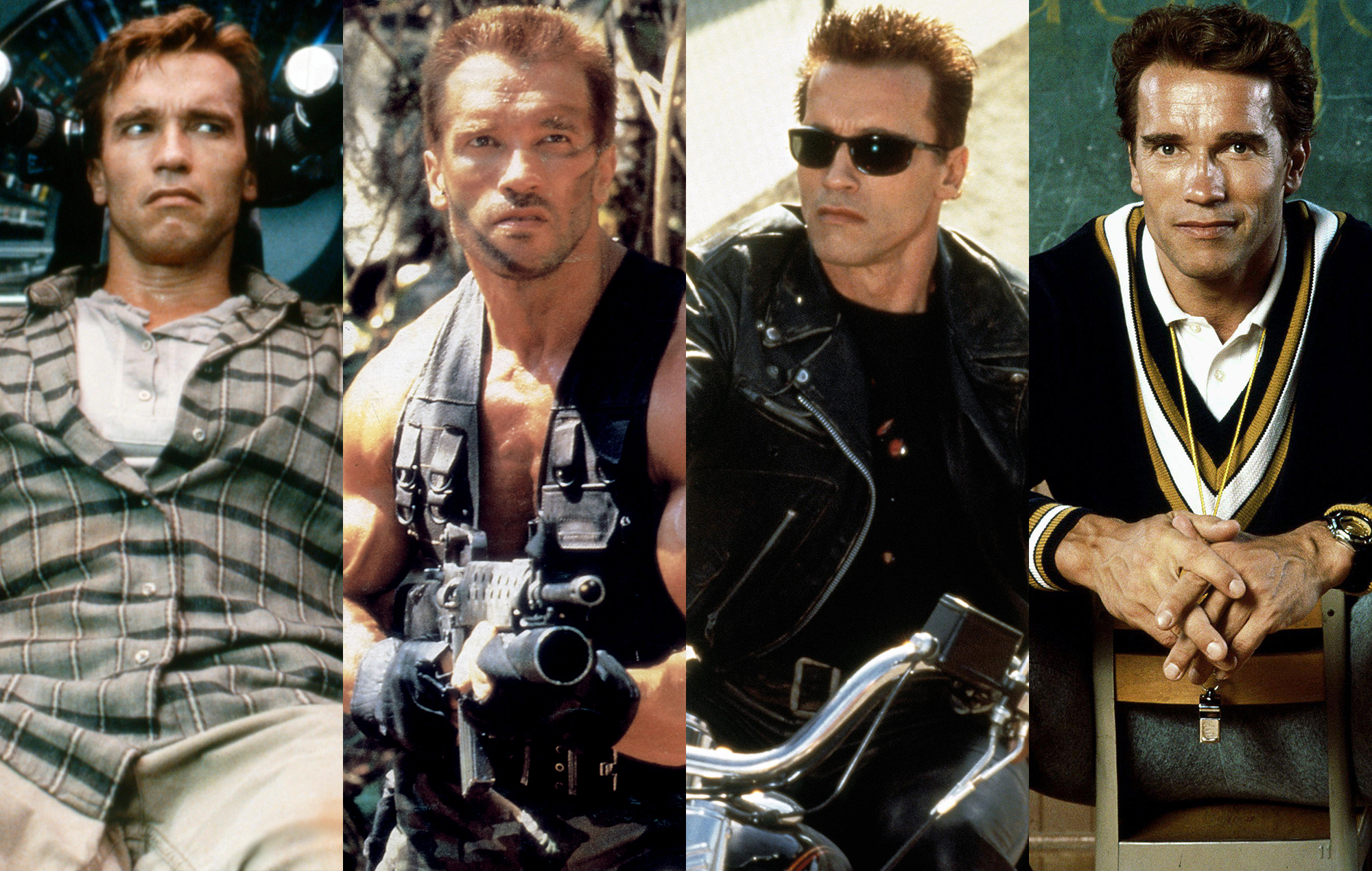 Las 5 Mejores Películas de Arnold Schwarzenegger