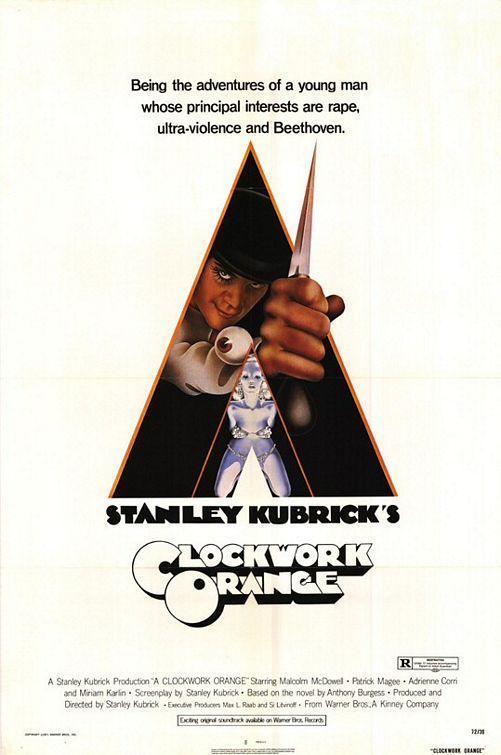 Clockwork Orange - Stanley Kubrick (póster)