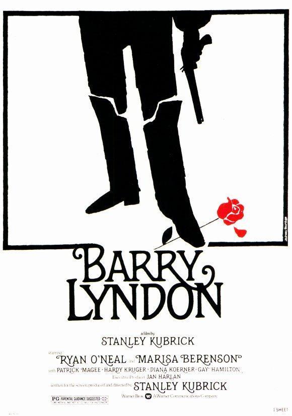 Barry Lyndon - Stanley Kubrick (póster)