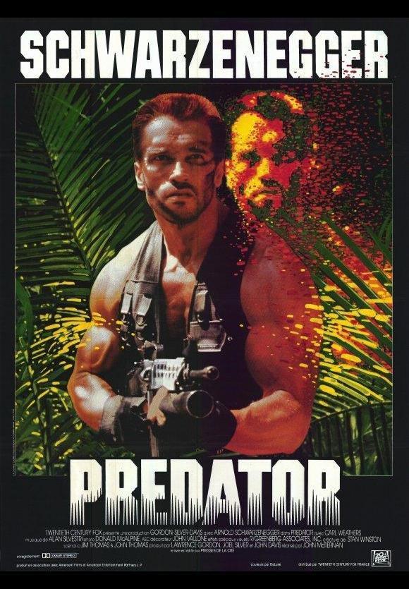 Predator (póster) - Arnold Schwarzenegger
