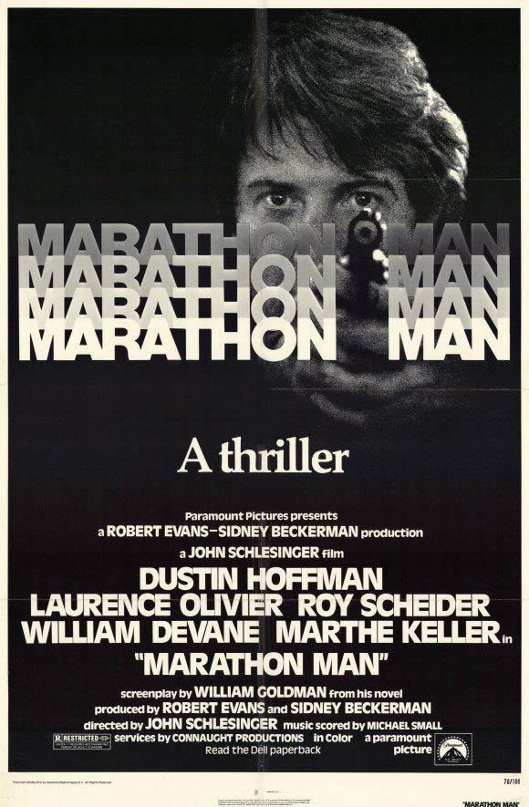 Marathon Man (poster) - Dustin Hoffman