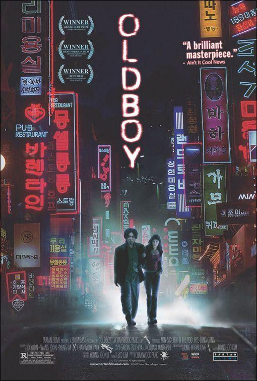 Oldboy - Park Chan-wook (póster)