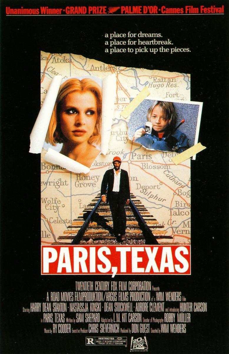 Paris, Texas (póster) - Wim Wenders