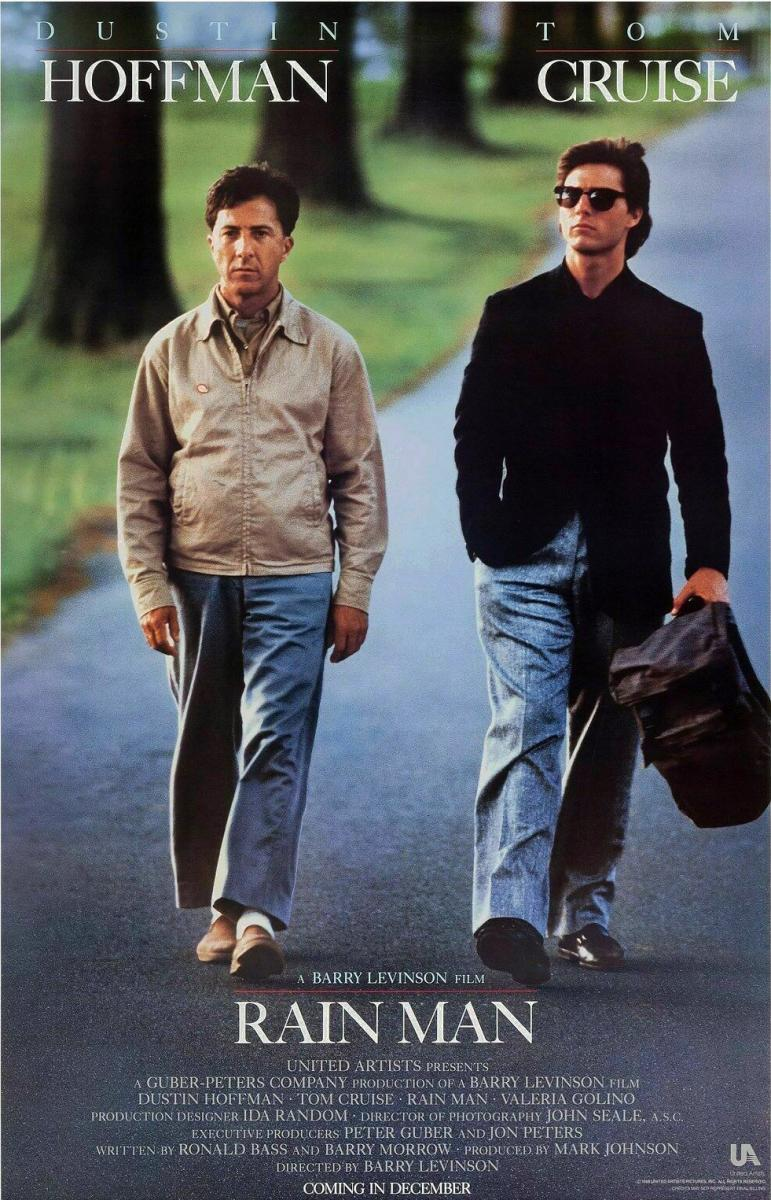 Rain Man (Poster) - Dustin Hoffman