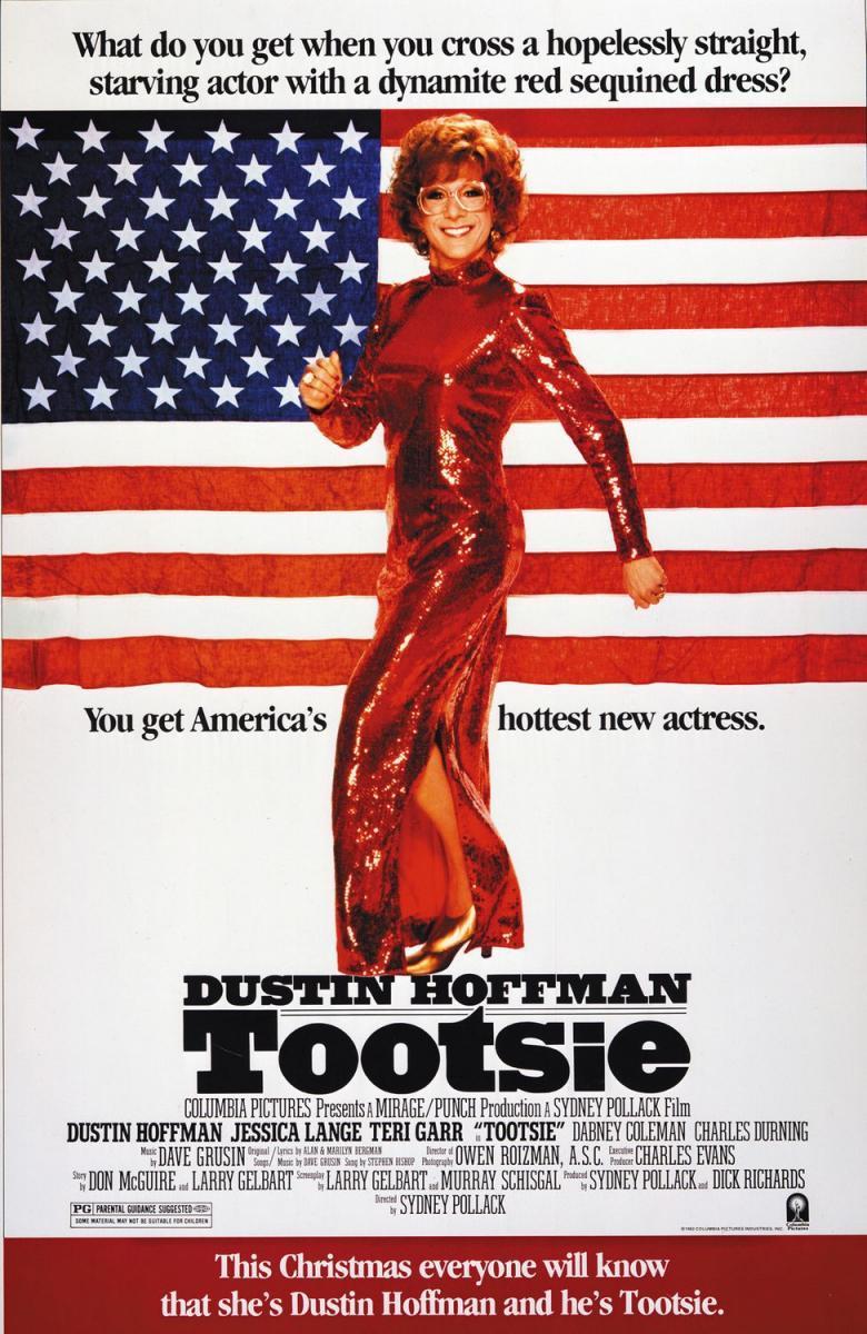 Tootsie - Dustin Hoffman (poster)
