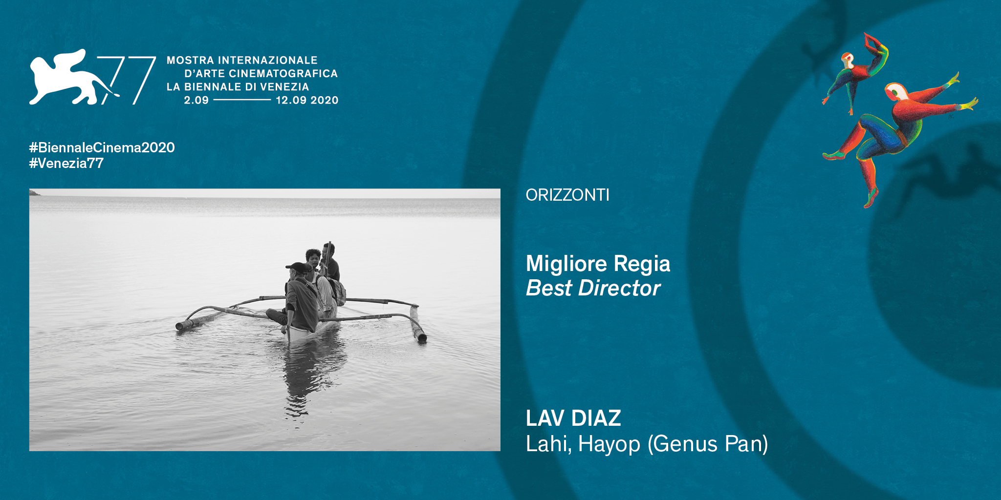 Palmarés de la 77a edición del Festival de Cine de Venecia : Cinescopia