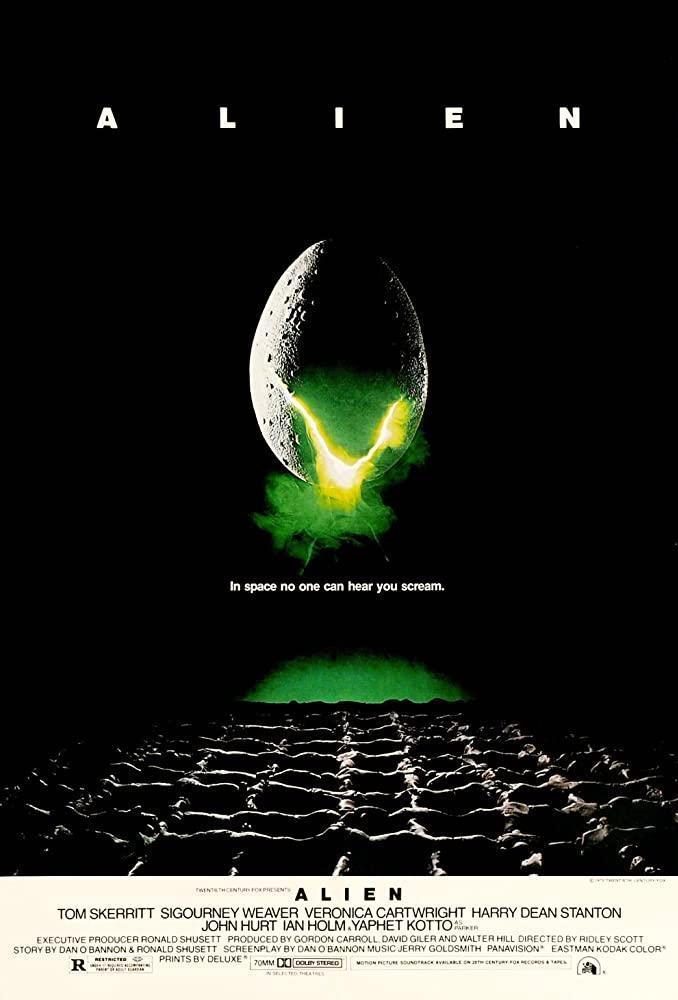 Alien (poster) - Sigourney Weaver