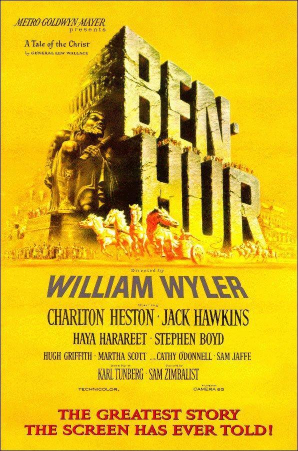 Ben-Hur (póster) - Charlton Heston