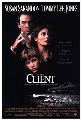 The Client (póster) - Susan Sarandon
