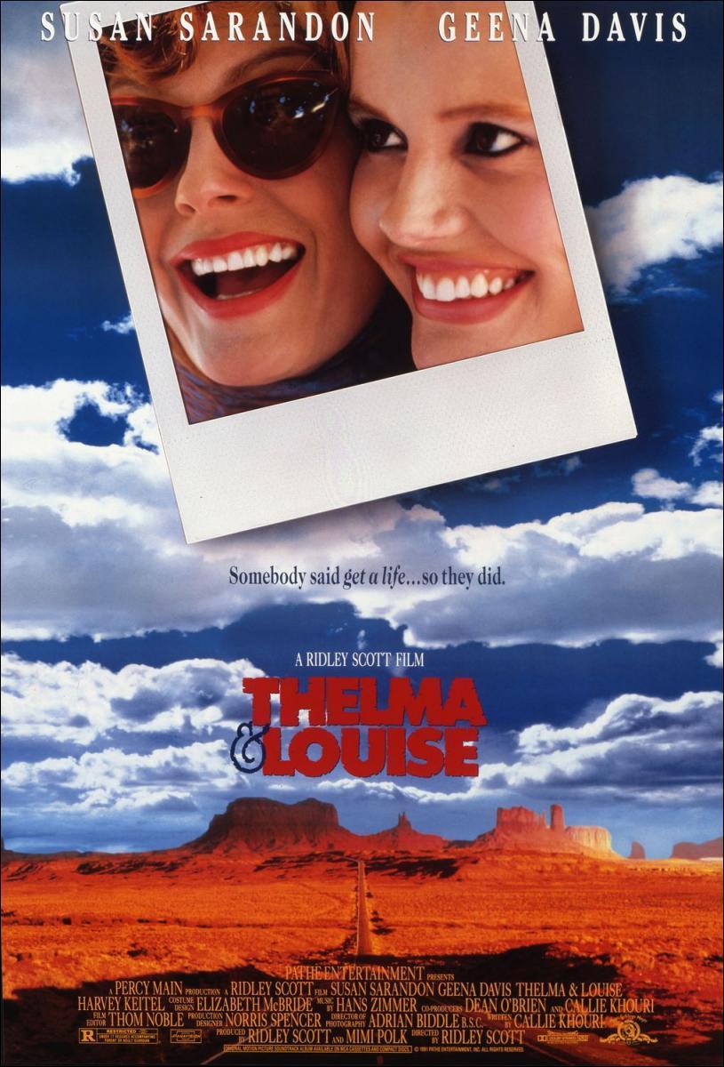 Thelma & Louise (póster) - Susan Sarandon