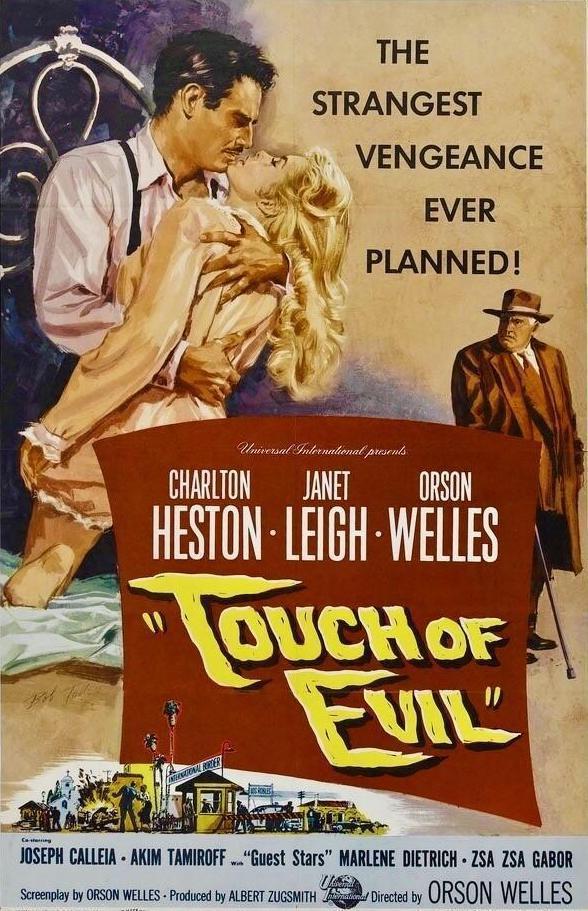 Touch of Evil (póster) - Charlton Heston