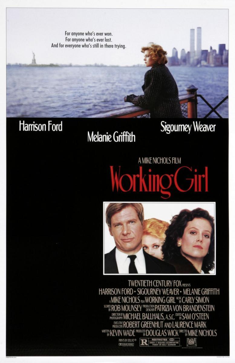 Working girl (poster) - Sigourney Weaver