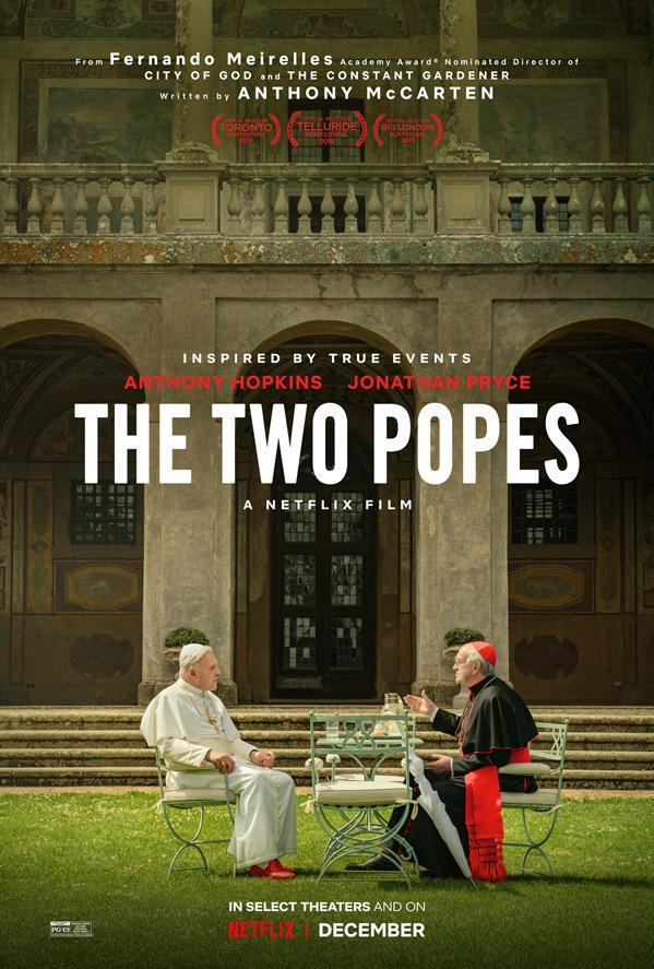 The Two Popes, Anthony Hopkins