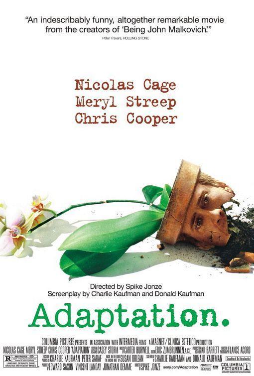 Adaptation (póster) - Nicolas Cage