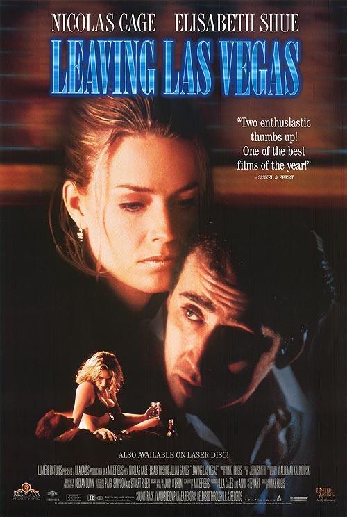 Leaving Las Vegas (póster) - Nicolas Cage