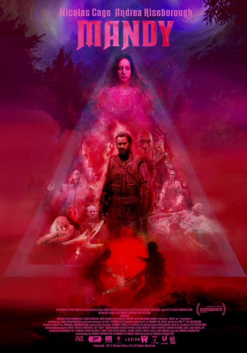 Mandy (póster) - Nicolas Cage