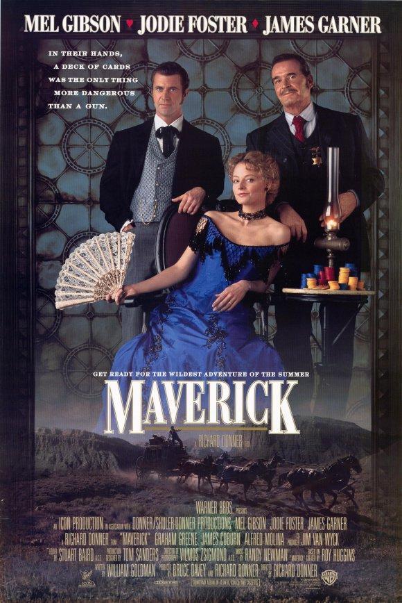 Mel Gibson en Maverick